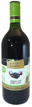 Billede af Greener Planet Red Grape Juice  Rød Druesaft 1 liter